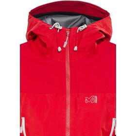 Millet LD Jungfrau GTX Jakke Damer, rouge/silver